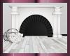 Black & White Fireplace