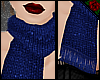 !VR! Small Scarf Blue