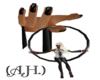 (A.H.)Blk Wolf Lft Hand