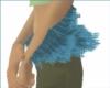 Mystic blue arm fur
