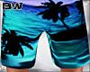 Blue Sunset Beach Shorts