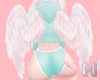 🅜 MINK: angel wings