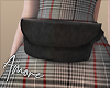 $ Black Fur Add-on Bag