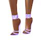 Purple Bling Heels