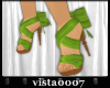 [V7] Green Bow Shoes