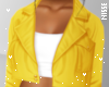n| Crop Coat Yellow