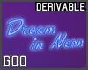 Neon Sign Blue Omni