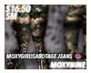 Sabotage Jeans.