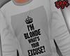 1984 Blonde Excuse