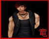 [竜]Black Muscle Hoody