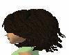 dark chestnut hair