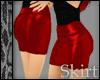 Short Red Skirt