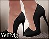 [Y] Black heels SH