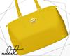 ♕ Yellow Handbag