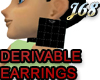 J68 Derivable Earrings