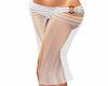 White layerable sarong