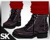 Fall Boots w/Sock Apple