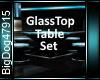 [BD]GlassTopTableSet