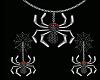 Spooky Spider set Animat