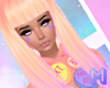 🅜 CANDY: hair coral 2