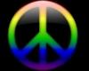 Rainbow Peace Lapel PinM