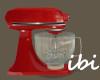ibi Stand Mixer Red
