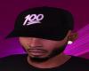 Black 100 hat
