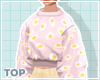 pink egg sweater