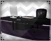 T| Black Office Desk