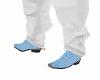 baby blue  botas Avestru