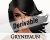 Derivable long hair 2