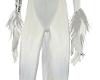 white wolf wrist fur