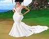 robe mariage rose fleur