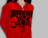 RED THRASHER HOODIE