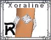 (XL)White Dia Brace R