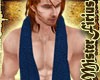Neck Towel Blue