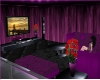 *sk* Pink couch tv