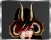 Demoness Lilith horns