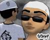 Crooked G Cap: White