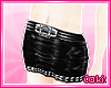 ~C~PVC Studded Skirt