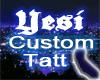 Yesi Custom Neck Tatt