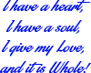 Heart and Soul Blu