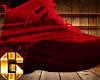 G💯 Shoe  LN Bleed Red