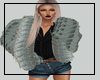Distressed Blues Fur
