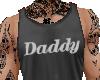 Daddy Tank Top Gray