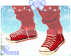 KID Shoes Red Christmas
