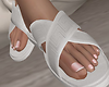 Slippers x White
