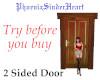 2 Sided Door