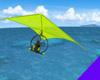 Powered Hang Glider Lime