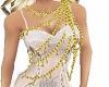 golden full necklace